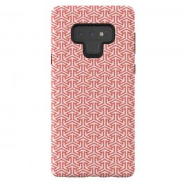 Galaxy Note 9  Living Coral Pattern III by Art Design Works (arts cases,phone case,abstract,color,colors,iphone,samsung,gift,design,unique,modern,style,fresh,vivid,cool,print,art,tmarchev,art design works,skin,protector,artcase,texture,decorative,   Living,Coral,geometric,seamless,trend,trending,clean,simple,trendy,white,digital,fashion,Minimalist,Stripes,sha)