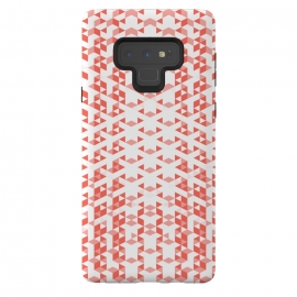 Galaxy Note 9  Living Coral Pattern VI by Art Design Works (arts cases,phone case,abstract,color,colors,iphone,samsung,gift,design,unique,modern,style,fresh,vivid,cool,print,art,tmarchev,art design works,skin,protector,artcase,texture,decorative,   Living,Coral,geometric,seamless,trend,trending,clean,simple,trendy,white,digital,fashion,Minimalist,Stripes,sha)