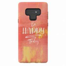 Galaxy Note 9  Be HAPPY Today by Art Design Works (Graphic-design,Be-happy-today,Gold,Living-coral,Print,Golden,Texture,Text,Quote,Uplifting-quotes,Motivate,Paint,Font,Positive,Good-vibe,Feel-good,Poster,Design,Message,Color,Colors,arts cases,phone case,abstract,color,colors,iphone,samsung,gift,design,unique,modern,style,fresh,vivid,cool,print,art,t)
