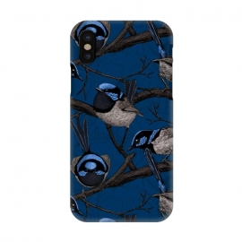 iPhone X  Night fairy wrens by Katerina Kirilova