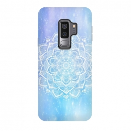 Galaxy S9 plus  Mandala blue purple by