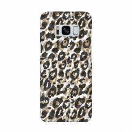 Elegant gold leopard animal print pattern by InovArts