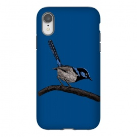 iPhone Xr  Fairy wren drawing by