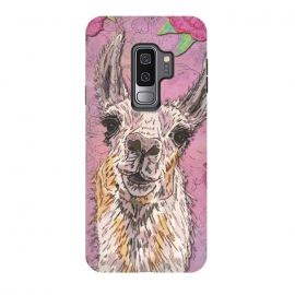 Perfectly Pink Llama by Lotti Brown