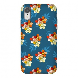 iPhone Xr  Summer Wind Floral Pattern by