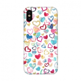 iPhone X  Painted Love by gingerlique