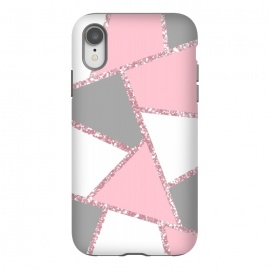iPhone Xr  Geometric pink glitters by Jms