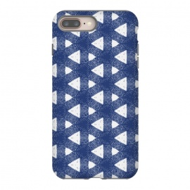Barcelona by Michelle Parascandolo (Geometric,Navy,Pattern,Navy and White,Geometric Pattern)