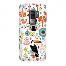 Galaxy S9 plus  Colorful Toucans  by