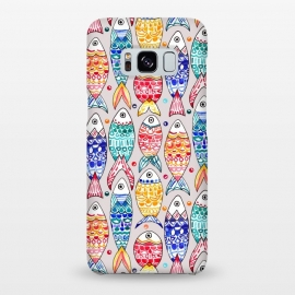 Galaxy S8+  Fish Print  by Tigatiga
