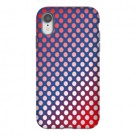iPhone Xr  silver polka dots by MALLIKA
