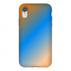 iPhone Xr  orange blue gradient by