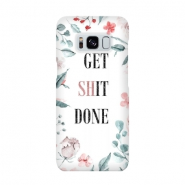 Get shit done - floral  by Utart