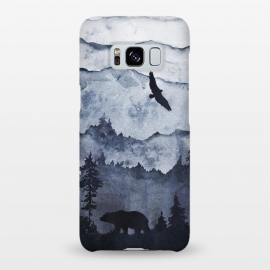 The mountains are calling- bear and eagle by Utart