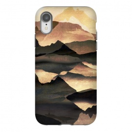 iPhone Xr  Golden mountains landscape  by