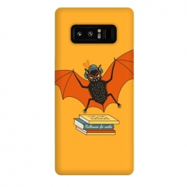 Galaxy Note 8  Bat granny in the library  by