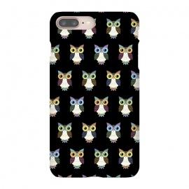iPhone 8/7 plus  Fancy owl pattern by
