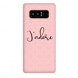 Galaxy Note 8  Pink J'adore by