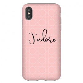 Pink J'adore by Martina (love, pink,heart,pattern,elegant,for her,feminine,girly,modern,stylish)