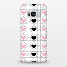Love Pattern by Martina (love,heart,pattern,modern,stylish,elegant,pink,typography,quote,words,for her,feminine,girly,valentine,valentines day)