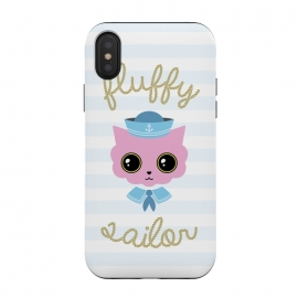 Fluffy sailor by Laura Nagel