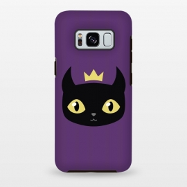 Galaxy S8 plus  Black cat king by