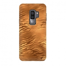 Galaxy S9 plus  Copper Tiger Fur by
