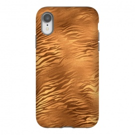 iPhone Xr  Copper Tiger Fur by