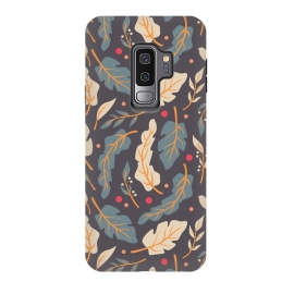 Galaxy S9 plus  Vintage Floral Pattern 006 by