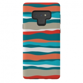 Galaxy Note 9  Coral Stripes by