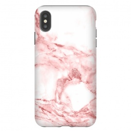 RoseGold and White Fashion Marble  by Utart