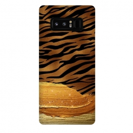 Galaxy Note 8  Hot Tiger Skin  by