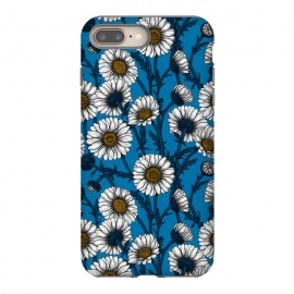 Daisies on blue by Katerina Kirilova