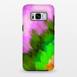 Galaxy S8 plus  Watercolor waterfall, nature by