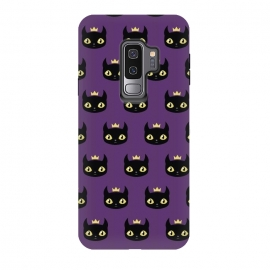 Galaxy S9 plus  Black cat pattern by