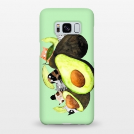 AvoGatos by Amaya Brydon (cats,avocados,cat,cat lover,foodie,green,food and drink)