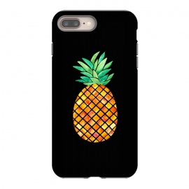 Pineapple On Black  by Amaya Brydon