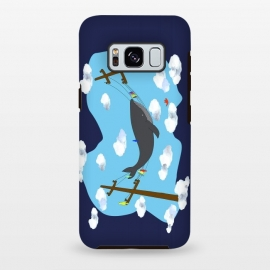 Galaxy S8 plus  There's Not Always Room For One More ( dark blue ) by  (whale,nautical,friends,humor,sky,ocean lover,ocean)