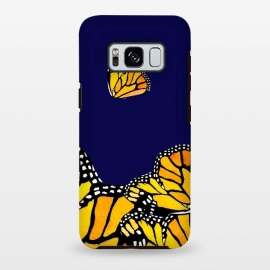 Galaxy S8 plus  Blue Butterfly by