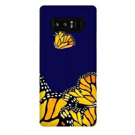 Galaxy Note 8  Blue Butterfly by  (blue,butterfly,butterflies,nature)