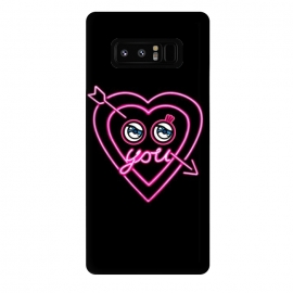 Galaxy Note 8  NEON love by