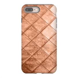 Rose Gold Crush by Uma Prabhakar Gokhale (other, color, copper, rose, gold, exotic, metallic, geometrical, squares)