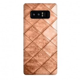Galaxy Note 8  Rose Gold Crush by  (other, color, copper, rose, gold, exotic, metallic, geometrical, squares)