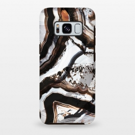 Galaxy S8 plus  Marble brushstroke stripes by