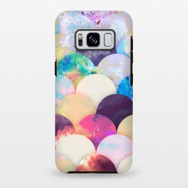 Galaxy S8 plus  Painted colorful clouds seashell balloons pattern by