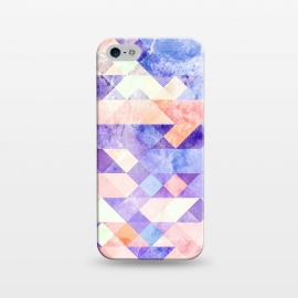 iPhone 5/5E/5s  Colorful marble geometric tiles by