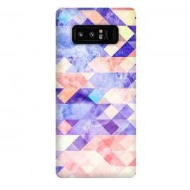 Galaxy Note 8  Marble textured triangle tiles by