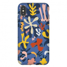 Colorful Matisse inspired colorful pattern by Oana