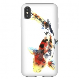 Koi. Watercolor design by Elena Terzi