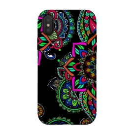 Mandala jewellery design henna design decorative ornament doodling phonecases by Josie George